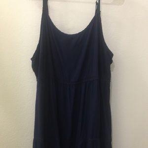 Navy blue torrid dress size 3